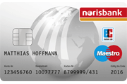 Norisbank Girokarte