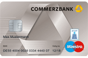 Commerzbank Maestro Girocard